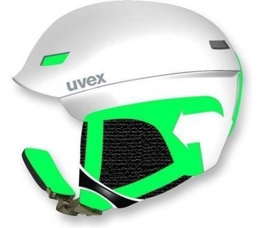 Casca Ski si Snowboard Uvex HLMT 7 Pure White-Green