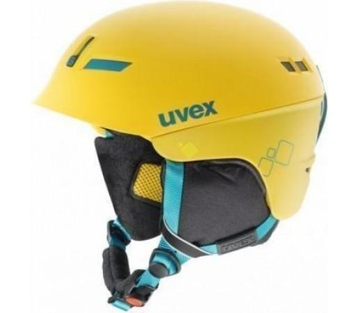 Casca Ski si Snowboard Uvex HLMT 7 Pure Yellow
