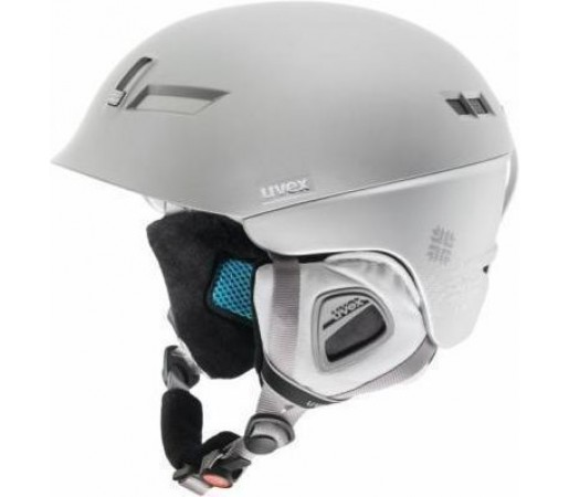 Casca Ski si Snowboard Uvex HLMT 7 White-Grey