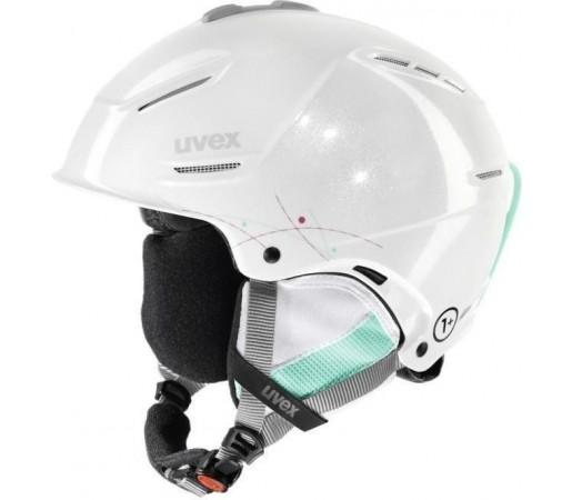 Casca Ski si Snowboard Uvex Plus Pro White- Blue