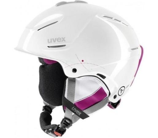 Casca Ski si Snowboard Uvex Plus Pro White- Pink
