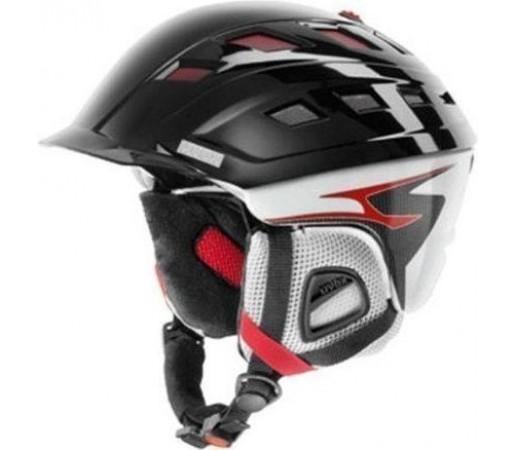 Casca Ski si Snowboard Uvex Sioux Carbon Black- White- Red