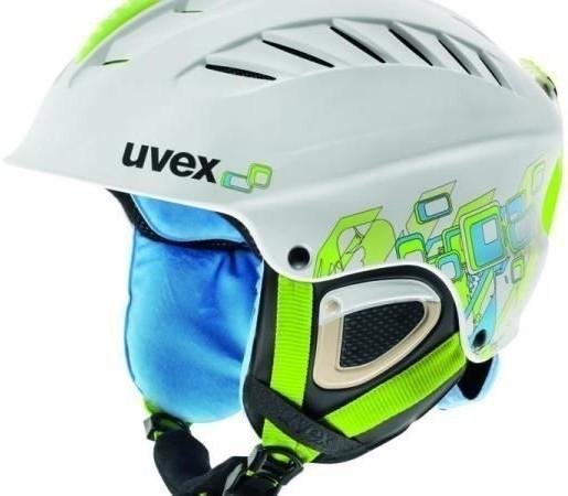 Casca Ski si Snowboard Uvex X-Ride Motion Graphic Lady White-Green