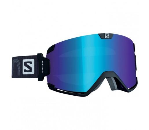 Ochelari schi si snowboard Salomon M Cosmic Negri / Albastri