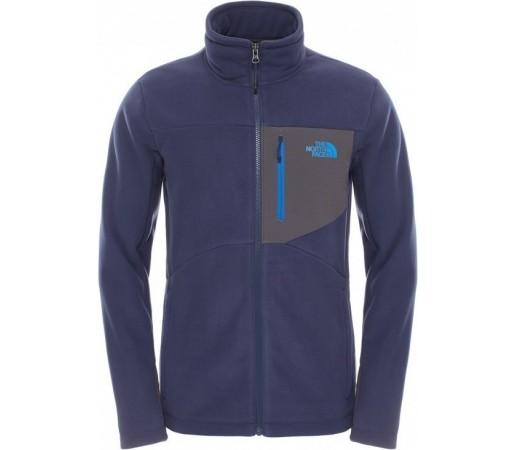 Polar The North Face M Chimborazo Full Zip Albastru/Gri