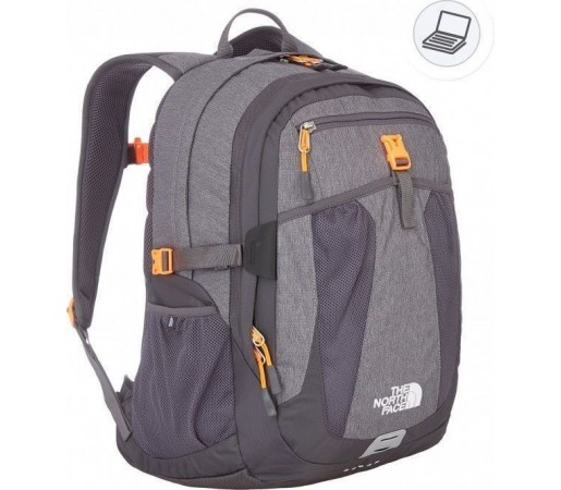 Rucsac The North Face Recon Grey/Orange