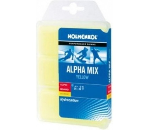 Ceara Solida Holmenkol Powerpack Alpha Yellow
