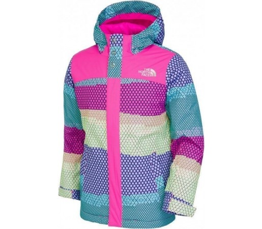 Geaca The North Face G Fall Line Azalea Pink Multicolor
