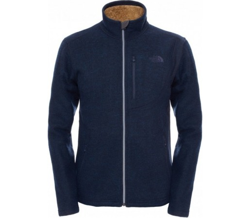 Bluza The North Face M Zermatt Full Zip Albastru