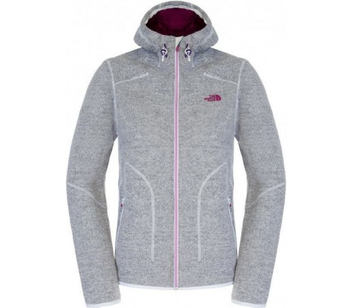 Hanorac The North Face W Zermatt FZ Hoodie Dapple Grey