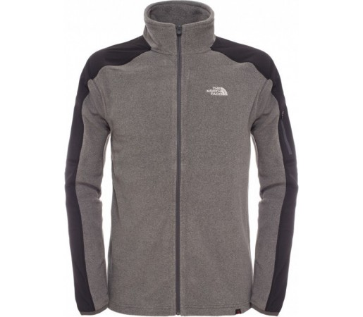 Polar The North Face M Glacier Delta Full Zip Gri