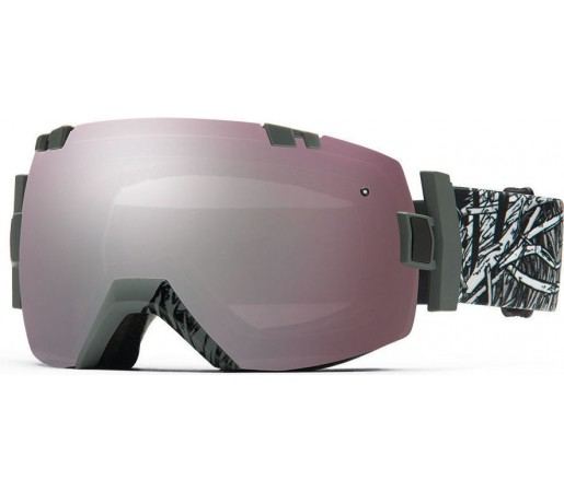 Ochelari Schi si Snowboard Smith I/OX Charcoal Stickfort/Ignitor mirror