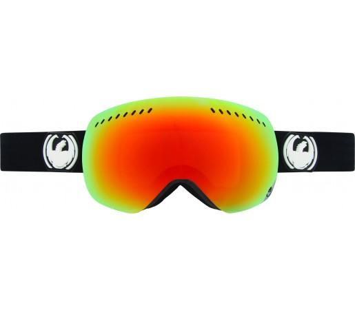 Ochelari Schi si Snowboard Dragon APX Coal Negru/ Red Ionized