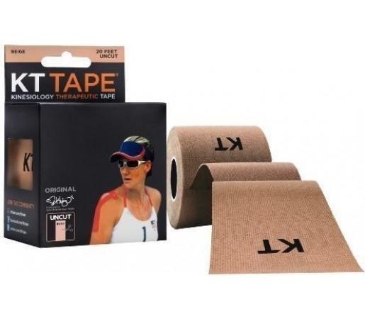 Benda Kinesiologice Kt Tape Cotton Uncut Beige