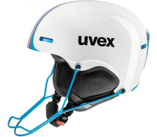 Casca Schi si Snowboard Uvex Hlmt 5 Race Alba