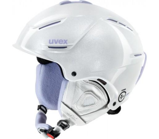 Casca Schi si Snowboard Uvex P1us Pro WL Alba