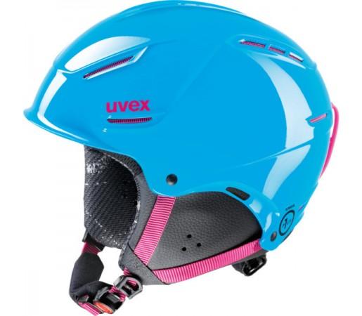 Casca Schi si Snowboard Uvex P1us Junior Albastra