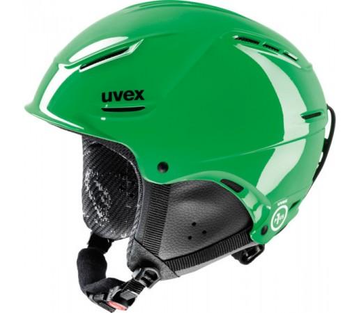 Casca Schi si Snowboard Uvex P1us Junior Verde