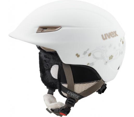 Casca Schi si Snowboard Uvex Gamma WL Alba/Maro