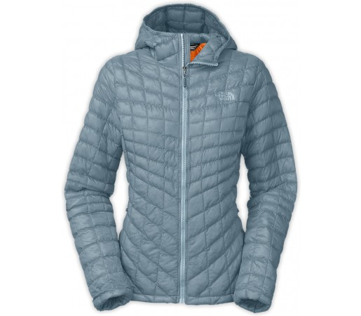 Geaca The North Face Thermoball Hoodie Albastra