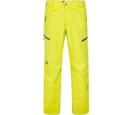 Pantaloni Schi si Snowboard The North Face M NFZ Yellow Green