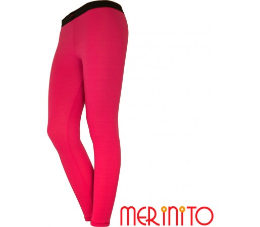 Pantaloni First Layer Merinito Dama Roz