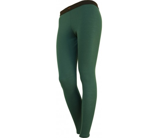 Pantaloni First Layer Merinito Dama Verde