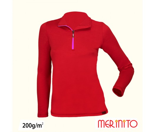 Bluza femei Merinito Rosie/ Mov