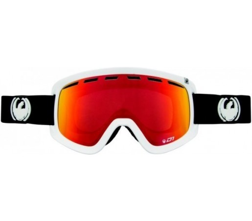 Ochelari Schi si Snowboard Dragon D1 Inverse  / Red Ion + Yellow
