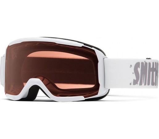 Ochelari Schi si Snowboard Smith Daredevil White/ RC 36 Rose Copper