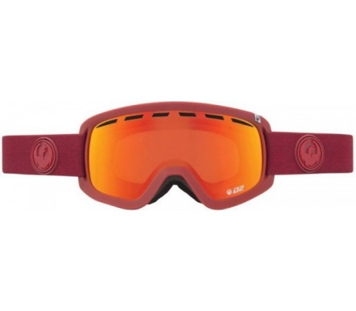 Ochelari Schi si Snowboard Dragon D2 Epoch Heather / Red Ion + Yellow