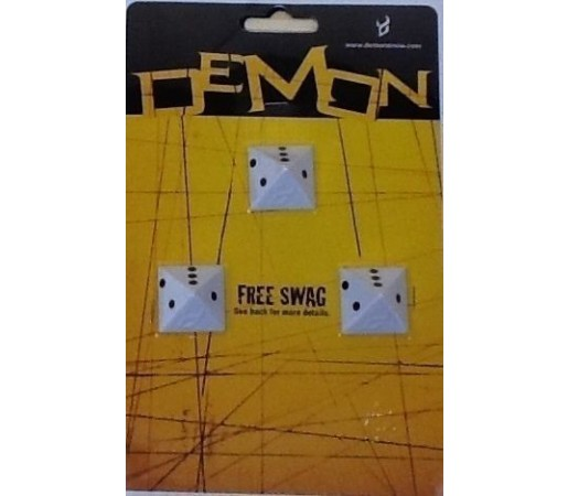 Demon Dice Clear Stomp Pad