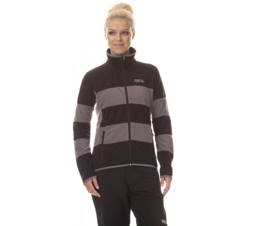 Jacheta Nordblanc DIVISION Light Polar Fleece Neagra
