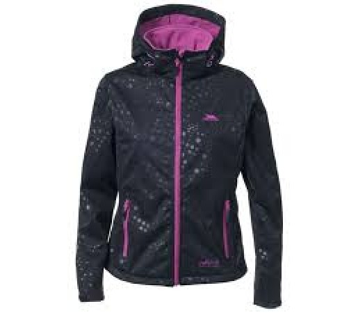 Jacheta softshell Trespass Ninaview Neagra