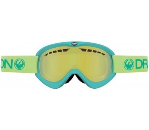 Ochelari Schi si Snowboard Dragon DX Verzi / Smoke Gold