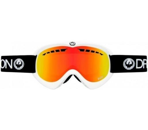 Ochelari Schi si Snowboard Dragon DX Albi/Negri / Red Ionized