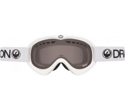 Ochelari Schi si Snowboard Dragon DX Powder Alb / Smoke