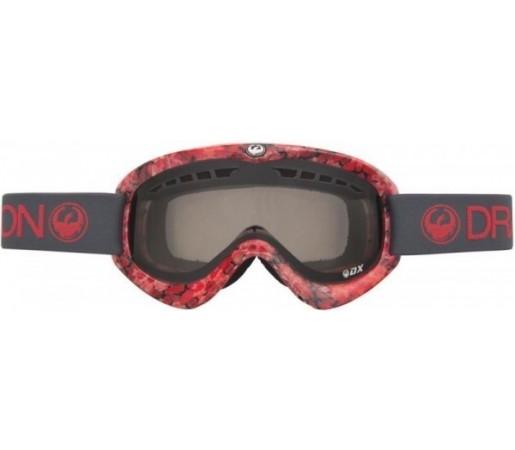 Ochelari Schi si Snowboard Dragon DX Rosii/Negri / Smoke