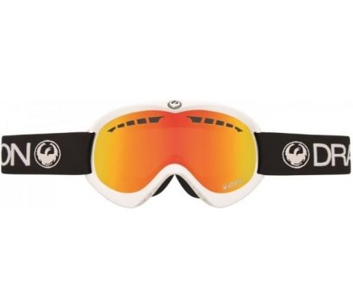 Ochelari Schi si Snowboard Dragon DXS Negri/Albi / Red Ion