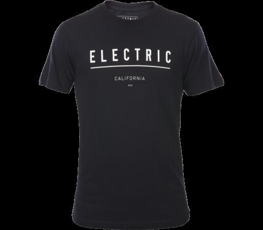 Tricou Electric Corporate Identity Negru