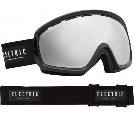 Ochelari Ski ELECTRIC EGB2s Gloss Black Bronze/Silver Chrome