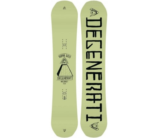Placa snowboard Rome Artifact Verde 2016