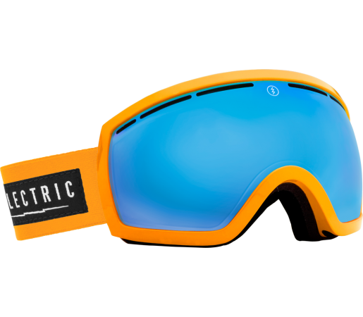 Ochelari Ski ELECTRIC EG2.5 Biohazard Bronze/Blue Chrome