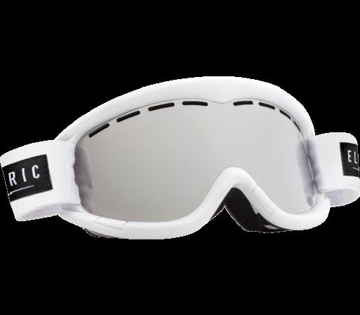 Ochelari Ski ELECTRIC EG1K Gloss White Bronze/Silver Chrome