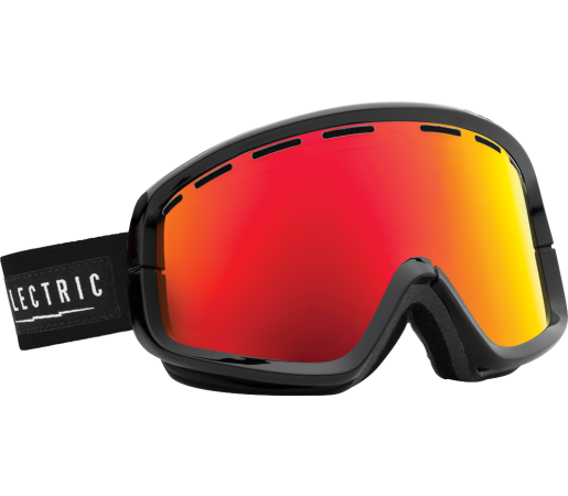 Ochelari Ski ELECTRIC EGB2 Gloss Black Bronze/Red Chrome