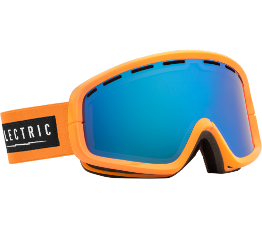 Ochelari Ski ELECTRIC EGB2 Biohazard Bronze/Blue Chrome