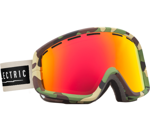 Ochelari Ski ELECTRIC EGB2 Hemp Bronze/Red Chrome