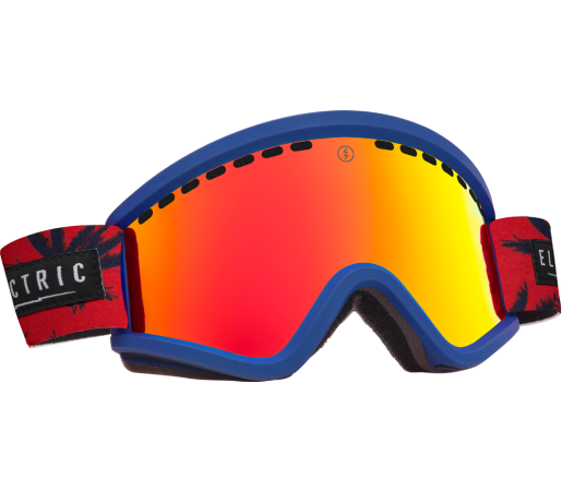 Ochelari Ski ELECTRIC EGV Blue Fronds Bronze/Red Chrome