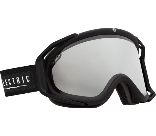 Ochelari Ski ELECTRIC Rig Gloss Black Bronze/Silver Chrome