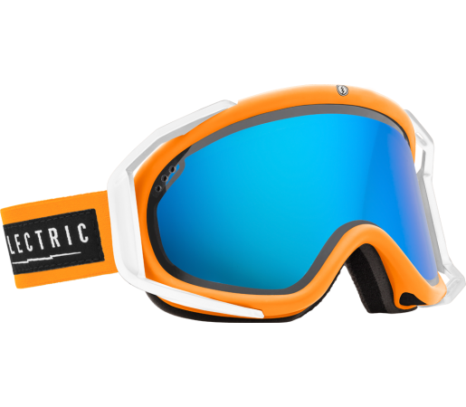 Ochelari Ski ELECTRIC Rig Biohazard Bronze/Blue Chrome